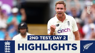 England v New Zealand Day 2 Highlights | Young & Conway Star On Day 2 | 2nd LV= Insurance Test 2021
