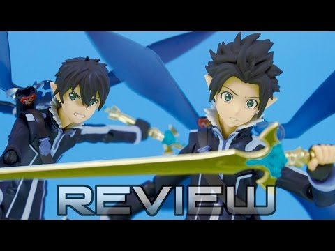 Figma 289 | Kirito ALO Ver. - SWORD ART ONLINE - Anime Figure Review ソードアート・オンライン キリト