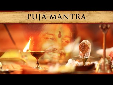 Puja Mantra with Paramahamsa Nithyananda's Voice, Guided Meditation Ritual and Music for Gratitude