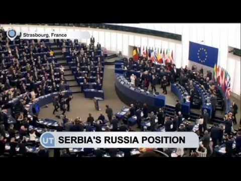 EU Wants Serbia to Back Russia Sanctions: Serbia considers EU integration a strategic goal