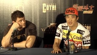 Fight Night Macao: Post-fight Press Conference