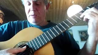 Guitar - mester jakob - akkord med D