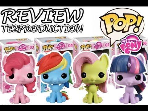 Review Pop! My Little Pony Fluttershy - Pinkie Pie - Twilight Sparkle - Rainbow Dash