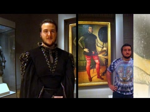 Man Who Looks Like Painting Interview: Max Galuppo Discusses Look-a-Like Painting in Philadelphia