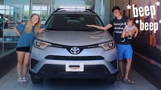 We Bought A New Car! | Teen Mom Vlog
