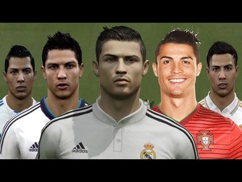 Cristiano RONALDO from FIFA 04 to FIFA 15 (PC, PS3, Xbox ONE)