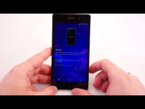 Wkładamy kartę microSIM i microSD do smartfona Sony Xperia Z2