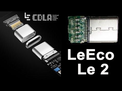 Что внутри переходника для наушников LeEco   нет CDLA там