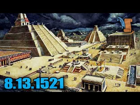 A Day In History: Siege of Tenochtitlan