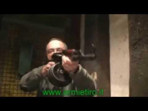 Ak 47 full auto con drum da 75 colpi