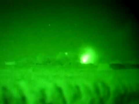 night time attack in Afghanistan
