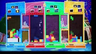 IcySoapy vs the world in Puyo Puyo Tetris