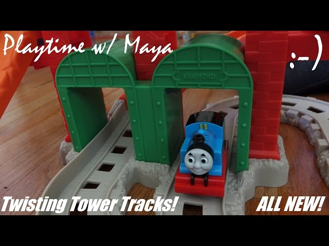 My First Thomas & Friends Twisting Tower Tracks Set Unboxing 2 of 2