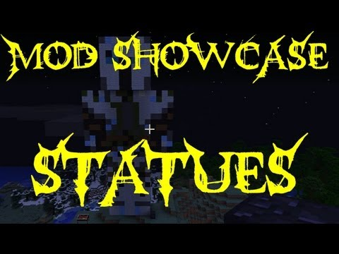 Minecraft Mod Showcase - Statues and More - Mod Review