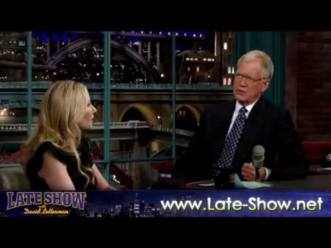 Anne Heche on David Letterman  8/26/2009  HQ VIDEO