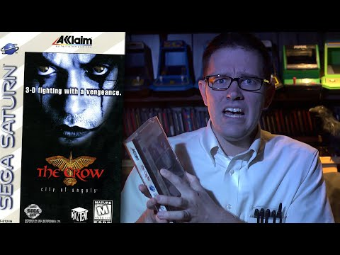The Crow (Sega Saturn) - Angry Video Game Nerd - Episode 137