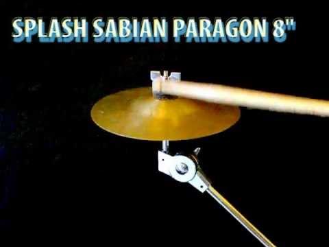 """Sabian Paragon splash 8"""" cymbal"""