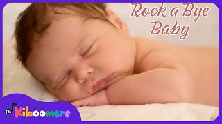 Rock A Bye Baby  Baby Songs  Rockabye Baby  Lullaby Song  The Kiboomers