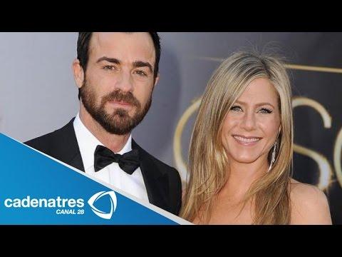 Boda íntima de Jennifer Aniston y Justin Theroux en México