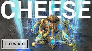StarCraft 2: NEXUS RUSH vs CANNON RUSH!