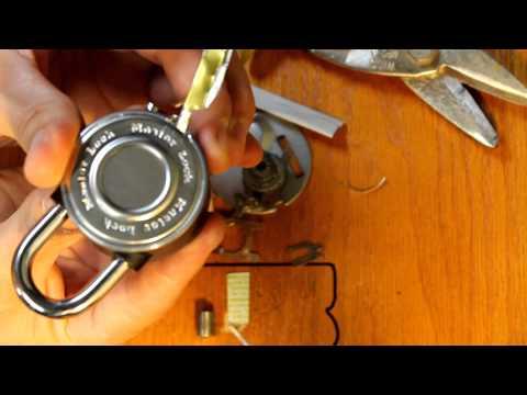master lock 1590d crack / hack / decode / lock pick lost combo PART 2