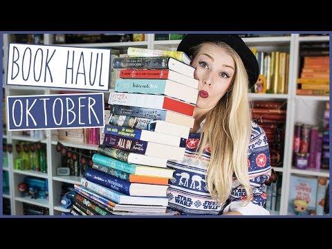 Der Book Haul vor neuer Kulisse! | Oktober (27 Bücher!)