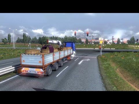Carga Explosiva! -- Kosice - Plymouth -- Largas travesías -- ETS 2 MP -- (Viaje sin comentar)