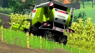 Landwirtschafts, Simulator, 2011, Maisdreschen, auf, der, W.I.P, HOMFELD)