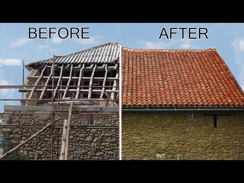 How to Build a Traditional Barn Roof