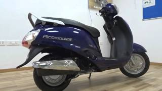 #ScooterFest: New Suzuki Access 125 2016 First Ride Review, Walkaround (3 colours)