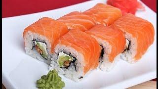 ♥ Ролл Филадельфия ♥ Простой рецепт суши в домашних условиях