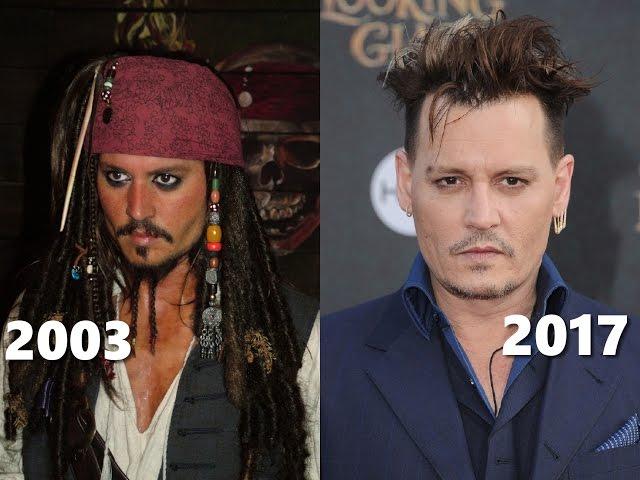 Jak zmienili się aktorzy z filmu Piraci z Karaibów?