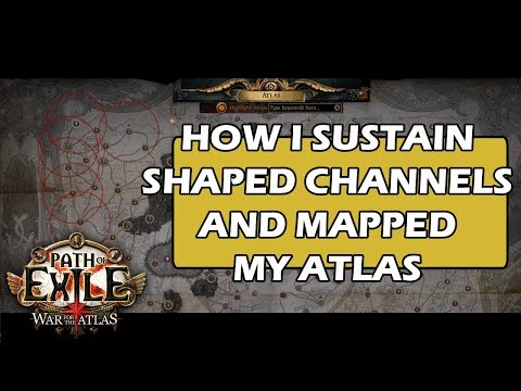 [3.1] How I shaped my Atlas & Sustain Shaped Channels - Sextants, Blocking - Path of Exile