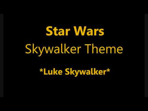 John Williams - Luke Skywalker Theme