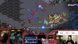 스타1 StarCraft Remastered 1:1 (FPVOD) Larva 임홍규 (Z) vs Shuttle 김윤중 (P) Transistor 트랜지스터