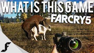 WHAT IS THIS GAME? - FARCRY 5 NEW GAMEPLAY