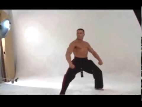 Jean-Claude Van Damme | Karate Demonstration Photo Shoot