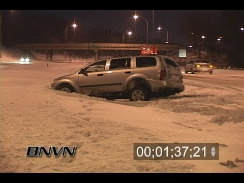 12/23/2007 Winter Driving Hazard Footage