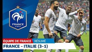 Équipe de France, France-Italie (3-1), le résumé I FFF 2018