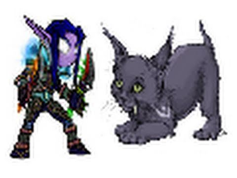 World of Warcraft PvP/PvE - 2v2 Feral Druid/Subtlety Rogue vs. Disc Priest/Arcane Mage