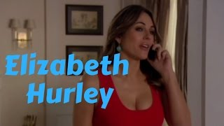 Elizabeth Hurley Curves in Figure Hugging Mini Dresses in Fave Gossip Girl Scenes