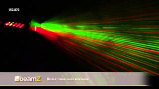 BeamZ LS-FF08 Mini Laser Red Green with Gobos 152.870