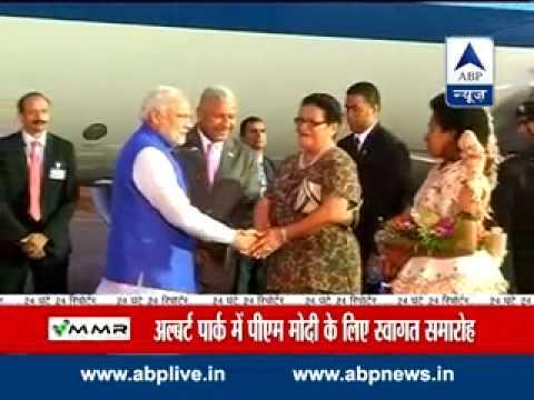 PM Narendra Modi announces visa-on-arrival for Fiji citizens