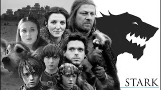 Game Of Thrones Season 8 Remaining Houses || House Stark Tribute  | History And Lore (Documentary)