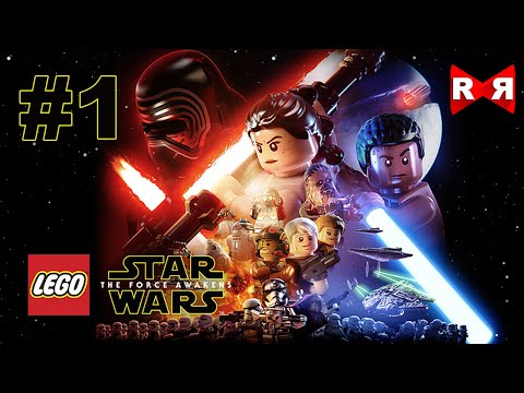 LEGO Star Wars: The Force Awakens - iOS / Android - Walkthrough Gameplay Part 1