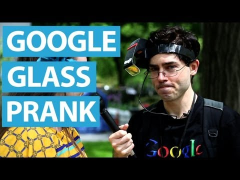 Google Glass From the '90s - R-Zone Prank