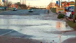 RAW VIDEO: DeKalb County watermain break