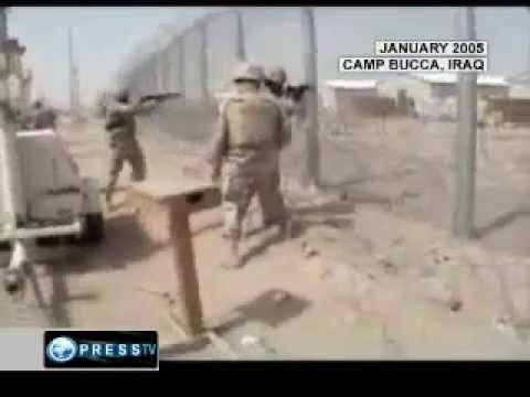 ((GRAPHIC)) US Troops shoot Captive prisoners