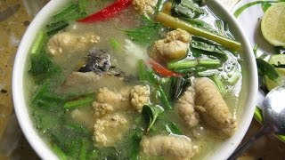 How To Make Fish Head Soup 2017 | Homemade Food In Cambodia