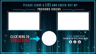 Lightingap viyoutube free vegas 14 pro outro template animated outro with end cards pronofoot35fo Choice Image
